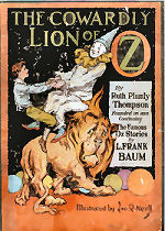 The Cowardly Lion of Oz Cover
