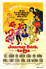 Original poster from Journey Back To Oz