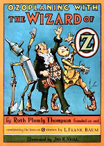 Ozoplaning with the Wizard of Oz Cover