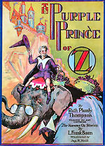 The Purple Prince of Oz Cover