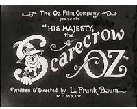 Original advertisement for His Majesty, the Scarecrow of Oz