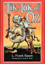 Tik-Tok of Oz Cover