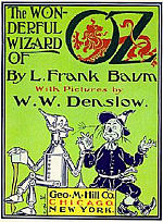 Original title page from The Wonderful Wizard of Oz