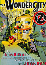 The Wonder City of Oz Cover