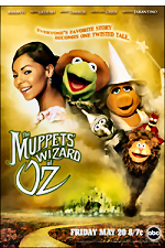 Poster for The Muppets' Wizard of Oz.