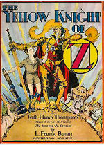 The Yellow Knight of Oz Cover