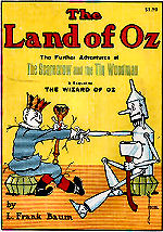 Marvelous Land Of Oz Cover