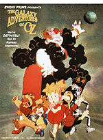 Cover for the Galaxy Adventures of Oz.