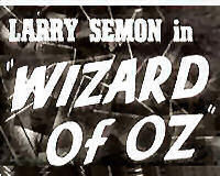 Title clip from 1925 Wizard of Oz movie